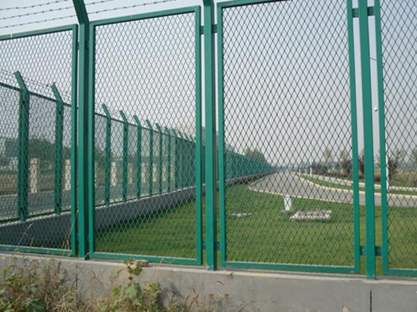 首都机场大通关基地出口加工区隔离网