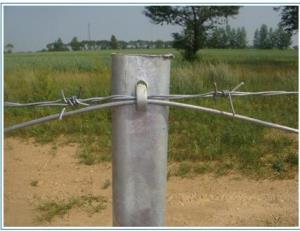 刺铁丝隔离栅组成及特点